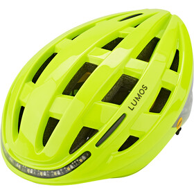 Lumos Kickstart MIPS Casco, electric lime